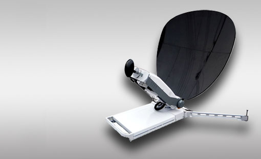 Full Automatic portable satellite antenna V1000P